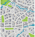city map vector image vector image
