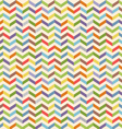 Full color seamless geometric pattern with zigzags vector image vector image