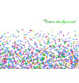 celebration background with confetti vector image