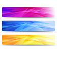 Web Banners Headers - Banner Header vector image