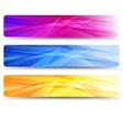 Web Banners Headers - Banner Header vector image vector image