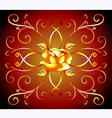 rose design vector image vector image