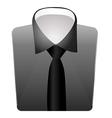 mens dress shirt vector image