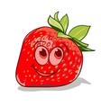 cartoon strawberry vector image