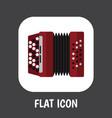 of sound symbol on accordion vector image