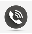 Phone sign icon Support symbol vector image
