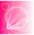 Pink light abstract background vector image