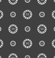 Gambling chips icon sign Seamless pattern on a vector image