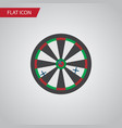 isolated darts flat icon arrow element can vector image