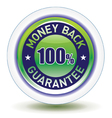 Money back icon vector image vector image