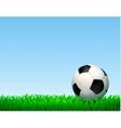 Football Ball Composition vector image vector image