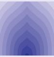 blue circular lines tunnel vector image