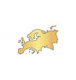 Eurasia computer symbol vector image
