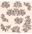 flowering branches vector image vector image