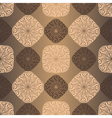 Seamless vintage brown pattern vector image vector image