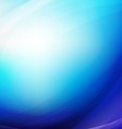 Abstract blue smooth flow background for modern vector image