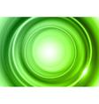 Background green light center big vector image