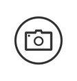photo icon on a white background vector image