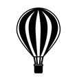 balloon air hot travel vector image