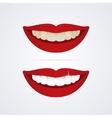 Whitening teeth vector image