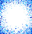 Background with blue drops vector image