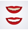 Whitening teeth vector image