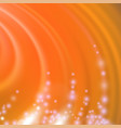 abstract orange blurred wave background vector image