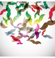 abstract background mustache vector image