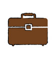 business briefcase isolated vector image