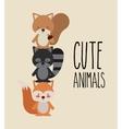 cute animals vector image