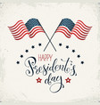 president day card vector image