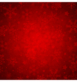 Red abstract decorative Christmas background vector image