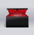 magic box or gift vector image