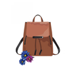 Vintage leather bag isolated vector image