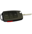 al 0523 car key 01 vector image