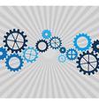 gears concept design vector image