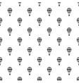 checkered air balloon pattern vector image