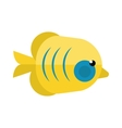 Reefs fish vector image