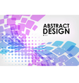 Abstract background purple and blue on white vector image