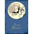 bats in the moonlight vector image
