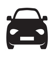 Car simple icon1 resize vector image