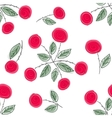 Endless rose pattern vector image