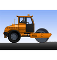 Road roller vector image
