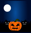 colored halloween background vector image