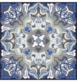 Square oriental pattern vector image