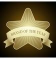 Award star vector image vector image