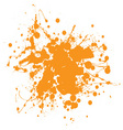 abstract ink splat vector image vector image