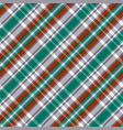 diagonal tartan seamless texture in red different vector image