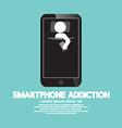 Smartphone Addiction Concept vector image