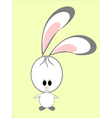 A funny rabbit vector image
